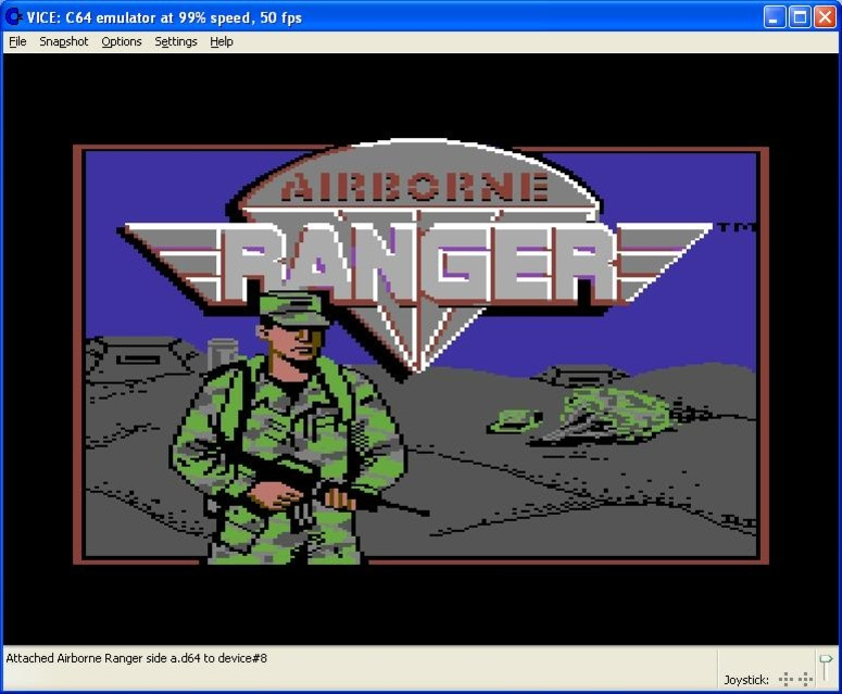 Airborne Ranger screen shot 1