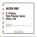 Alter Ego Manual Front Cover