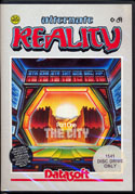 Alternate Reality: The City box front