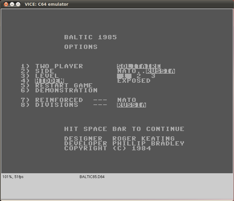Baltic 1985: Corridor To Berlin screen shot 2