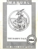 The Bard's Tale manual front cover