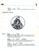 The Bard's Tale manual page 17