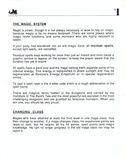 The Bard's Tale manual page 9