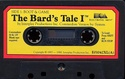The Bard's Tale Tape 1 side a