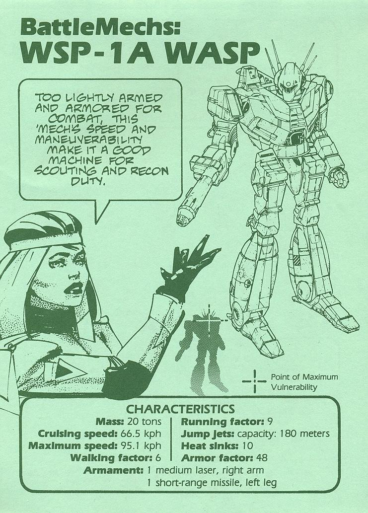 Battletech Weapon and Mech Recognition Guide page 3
