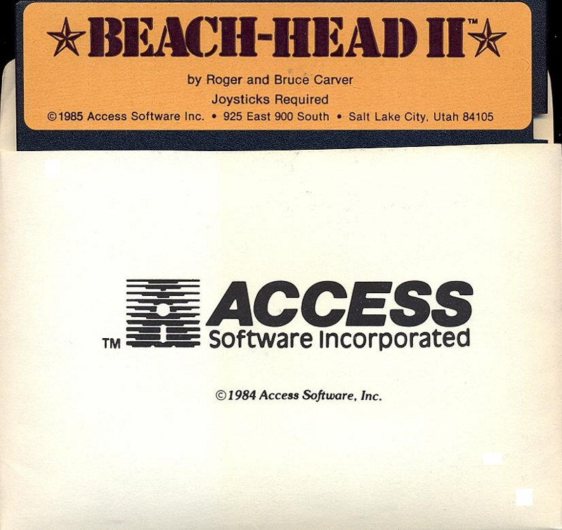 Beach-Head II disk