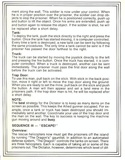 Beach-Head II manual page 7