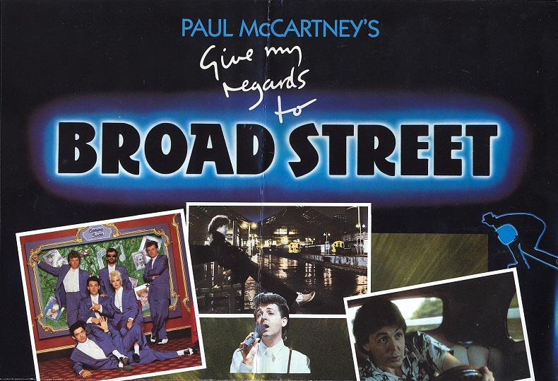Give my Regards to Broad Street Poster top