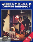 Where in the U.S.A. is Carmen San Diego? box front