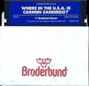 Where in the U.S.A. is Carmen San Diego? disk