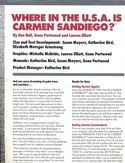 Where in the U.S.A. is Carmen San Diego? operating instructions back part 1