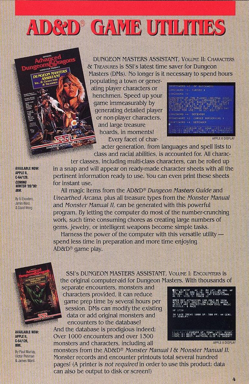 Champions of Krynn catalog page 5