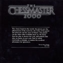 The Chessmaster 2000 manual front cover