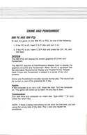 Crime and Punishment manual page 2