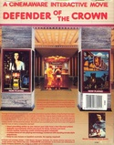 Defender of the Crown box back