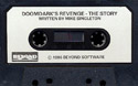 Doomdark's Revenge audio tape