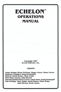 Echelon manual page i