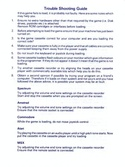 Echelon trouble shooting guide page 1