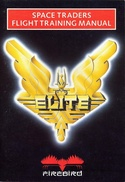 Elite Space Traders Flight Training Manual front cover