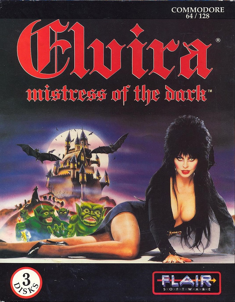 Elvira: Mistress of the Dark box front