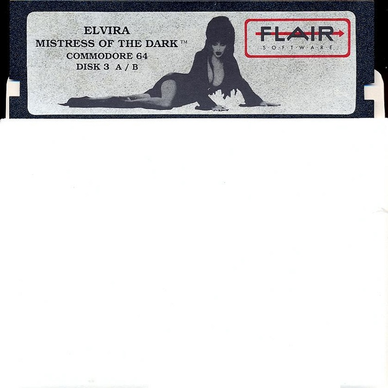 Elvira: Mistress of the Dark disk 3