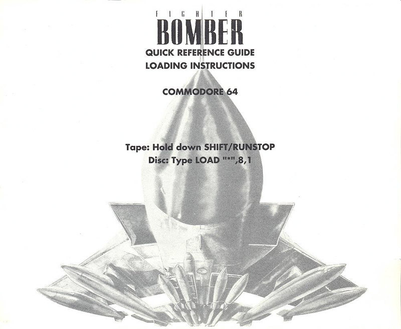 Fighter Bomber quick reference guide page 1