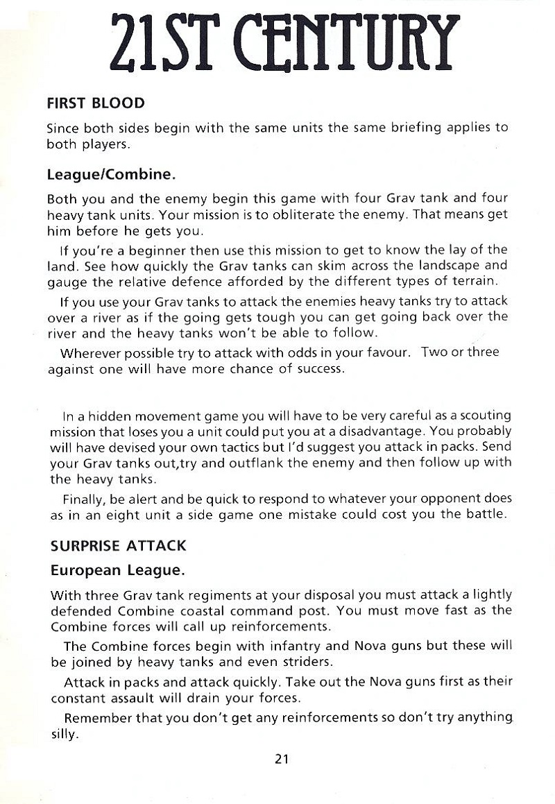 FireZone The Players Guide page 21