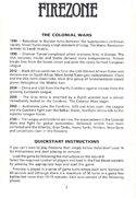 FireZone The Players Guide page 2