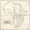 Heart of Africa Map