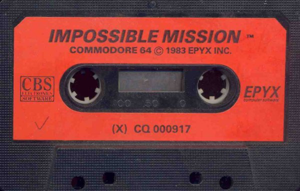 Impossible Mission Cassette