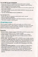 Impossible Mission 2 manual page 5