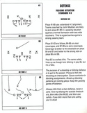 John Madden Football defensive playbook page 13