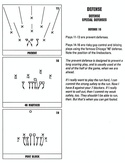 John Madden Football defensive playbook page 3
