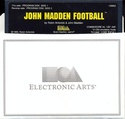 John Madden Football disk