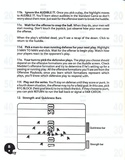 John Madden Football manual page 10