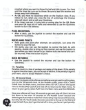John Madden Football manual page 12