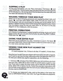John Madden Football manual page 40