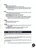 John Madden Football manual page 47