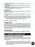 John Madden Football manual page 51