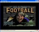 John Madden Football screen shot 1