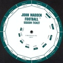 John Madden Football wheel