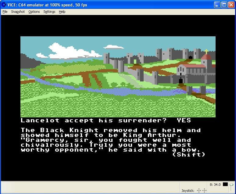 Lancelot screen shot 4