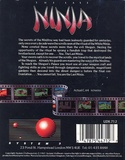 The Last Ninja Inlay back
