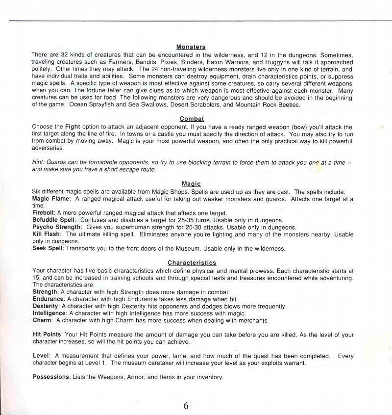 Legacy of the Ancients Manual Page 6