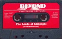 The Lords of Midnight Cassette