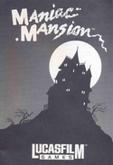 Maniac Mansion manual front cover