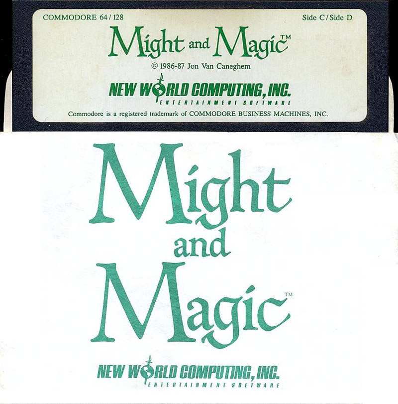 Might and Magic disk 2