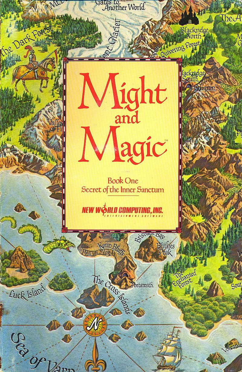 Might and Magic manual front cover