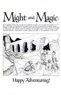 Might and Magic manual page i