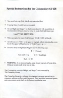 Might and Magic special instructions